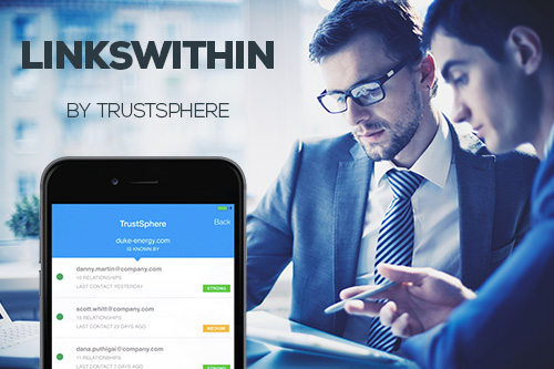 TrustSphere Delivers True Enterprise Social Networking with LinksWithin*