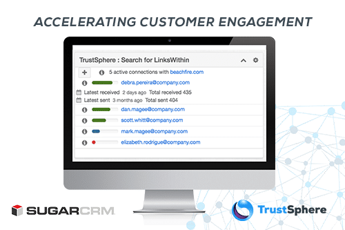 SugarCRM Signs Agreement with TrustSphere to Offer Relationship Analytics for Sugar