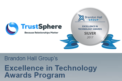 TrustSphere Wins Silver Brandon Hall Technology Excellence Award for Talent Management