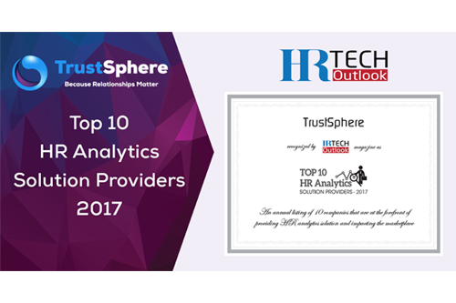 Top 10 of HR Analytics Solution Providers 2017